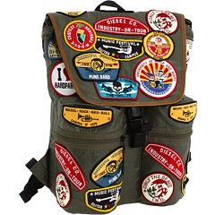 Diesel Underpatches Nickname Backpack