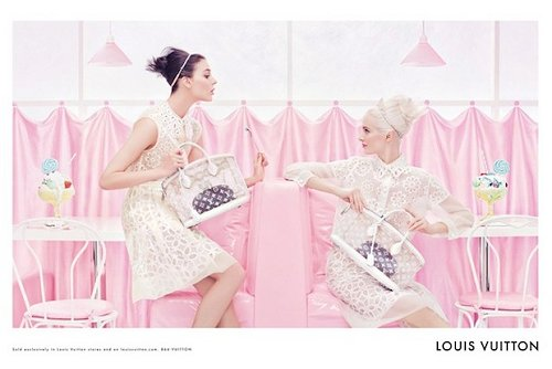 Louis Vuitton Spring 2012 Advertisement