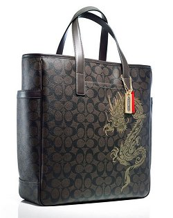 Coach Year of the Dragon Tote
