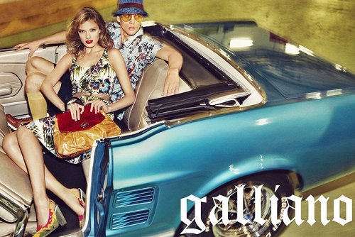 Galliano Spring 2012 Advertisement