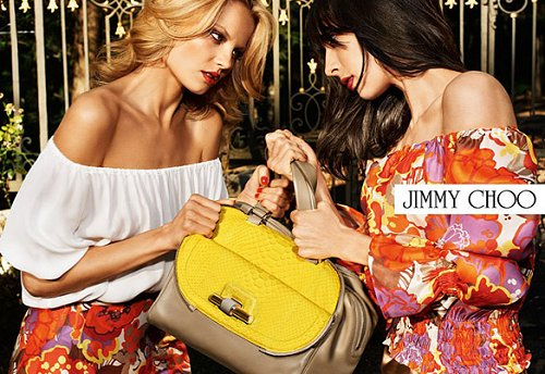 Jimmy Choo Spring 2012 Advertisement