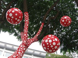 Yayoi Kusama's Ascension of Polka Dots