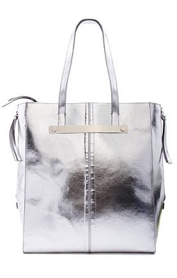 Mango Touch Silver Tote