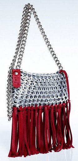 Bottletop Red Bag
