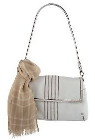 Isaacmizrahilive Pebble Leather Shoulder Bag