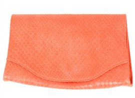 JJ Winters Boa Envelope Clutch