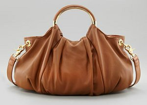 Love Moschino Funny Round Handle Hobo