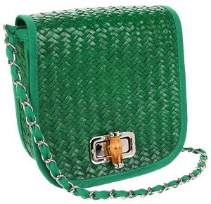 Magid Novelty Straw Cross-Body