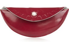 Maison Martin Margiela Glossed Leather Clutch