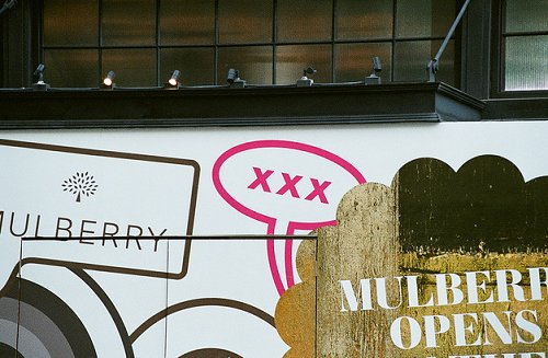 Mulberry Sign