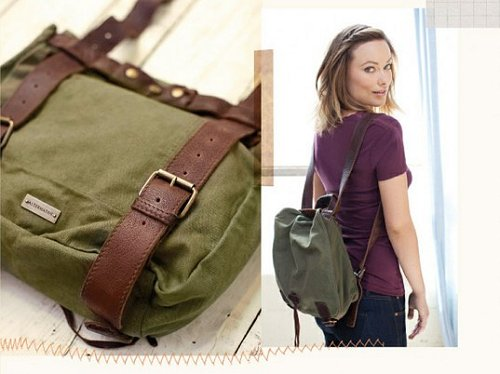 Olivia Wilde Messenger Bag