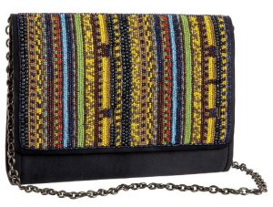 Santi Beaded Cross-Body Bag