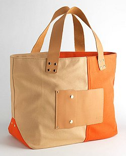 Ugg Australia Colorblock Canvas Tote