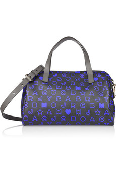 Marc By Marc Jacobs Eazy Taryn Monogrammed PVC Tote
