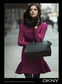 DKNY Ashley Greene Advertisement