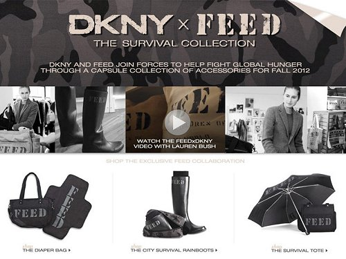 DKNY x FEED Collection