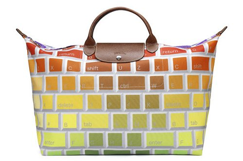 Longchamp Jeremy Scott Keyboard Le Pliage
