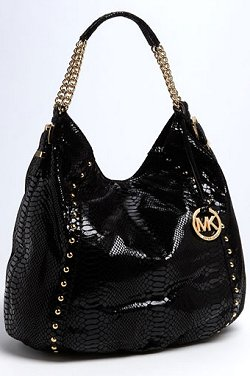 Michael Kors Patent Leather Hobo