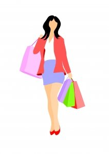 Shopping Cartoon